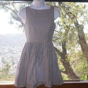 American Apparel pin stripe dress XS
